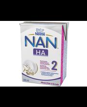 Nestlé Nan 200ml H.A.2 maitopohjainen käyttövalmis vieroitusvalmiste
