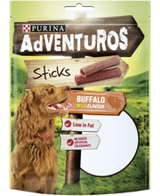 AdVENTuROS 120g Sticks Buffalon makuinen koiranherkku