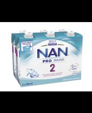 NAN 6x500ml PRO 2 Vier...