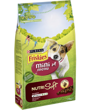 Friskies 1,4kg Mini Menu Nutri Soft Nautaa koiranruoka