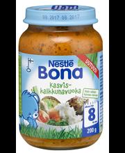Nestlé Bona 200g Kasvis-kalkkunavuoka lastenateria 8kk
