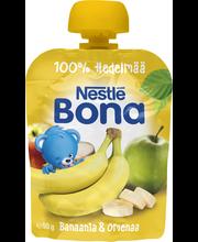 Nestlé Bona 90g Banaania&Omenaa hedelmäsose annospussi 4kk
