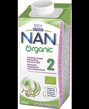 NAN 200ml Organic 2 vi...