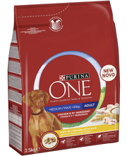 Purina ONE 2,5kg Adult...