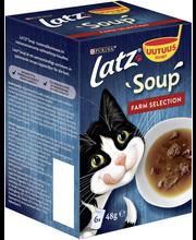 Kissanruoka 6x48g Soup