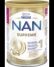 Nestlé Nan 800g Supreme 1 premium maitopohjainen äidinmaidonkorvike