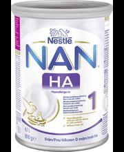 Nestlé Nan 800g HA 1 maitopohjainen äidinmaidonkorvike