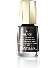 Mavala 5ml Nail Polish 48 Black kynsilakka