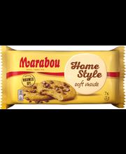 Marabou 182g Homestyle Soft, Cookie-keksejä, joissa maitosuklaapaloja (19,5%).