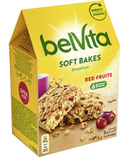 Belvita 250g Soft Bakes Red Berries