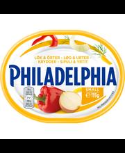 Philadelphia 115g Sipuli & Yrtit