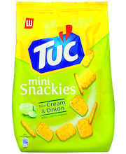 LU 100g TUC mini Snackies Sour Cream&Onion