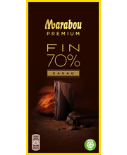 Marabou 100g Premium Dark 70% Cocoa