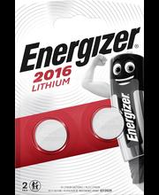 Energizer litium nappiparisto cr2016 3v/2