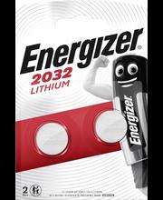 Energizer nappiparisto CR2032 lithium 3V 2kpl