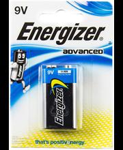 Energizer Adv paristo 9V BP1