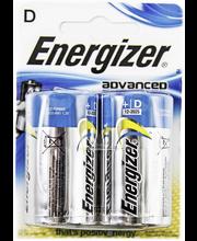 Energizer Adv paristo D BP2