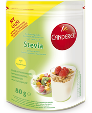 Canderel Green 80g Täyttöpakkauspussi Makeutusjauhe