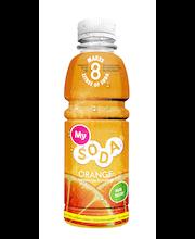 MySoda 500ml Orange