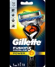 Gillette 1kpl Fusion ProGlide Power Flexball partahöylä
