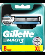 Gillette 8kpl Mach3 terä