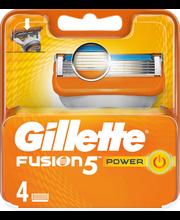 Gillette 4kpl Fusion Power terä