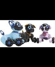 Chippies-Robottikoira 3 erilaista