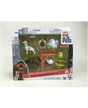 The Secter Life of Pets Pet Figures 6 pack