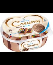 Ingman Creamy 850ml Mokkapala kermajäätelö INTO vähälaktoosinen