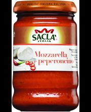 Saclà 190g Pesto mozzarella & peperoncino pestokastike