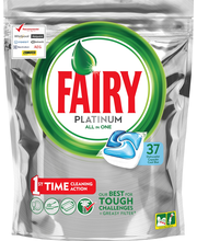 Fairy 37kpl Platinum All in One Blue astianpesuainetabletti