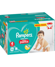 Pampers 82kpl BD Pants...