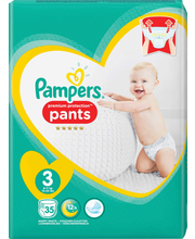 Pampers 35kpl PP Pants...