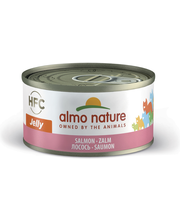 Almo Nature 70g HFC Jelly lohi märkäruoka kissoille