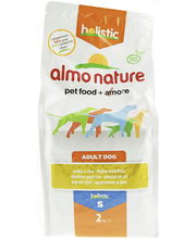 Almo Nature Holistic Dog 2 kg small adult kana ja riisi