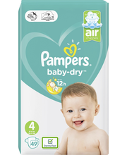 Pampers 49kpl Baby Dry...