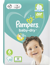 Pampers 42kpl BabyDry ...