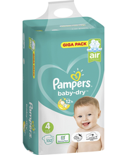 Pampers 132kpl BabyDry...