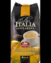 Saquella 1kg Espresso Bar Italia Extra Crema papukahvi