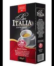 Saquella 250g Bar Italia Gran Crema kahvi