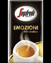 Segafredo Emozioni 250g 100% Arabica erittäinhienojauhatus kahvi