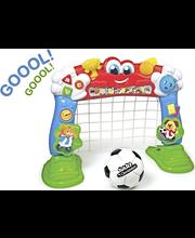 Clementoni puhuva jalkapallomaali