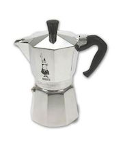Bialetti Moka Express 6 kupin espressokeitin