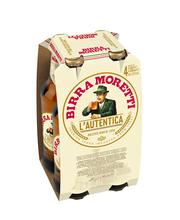 Birra Moretti Lautentica 4,6% 0,33l 4-pack olut