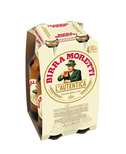 Birra Moretti 4,6% lager 4x0,33 KLP