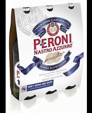 Peroni Nastro Azzurro 4,6% 3x33cl  olut
