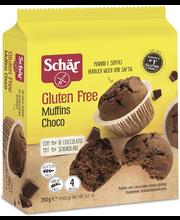 Schär 260g Muffins Choco Suklaamuffinssi GTON