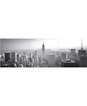 Home Decor sisustustarra New York 46003, 3 x 31x31 cm         mustavalkoinen