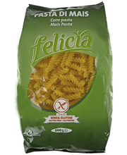 Pasta Fusilli Corn Glutei