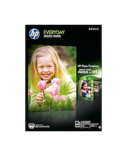 HP everyday valokuvapaperi puolikiiltävä A4/100